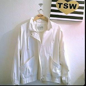 INTERNATIONAL SCENE 90's Vintage white jacket 12